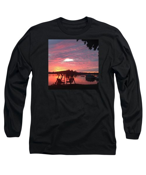 Cotton Candy Sunset Long Sleeve T-Shirt