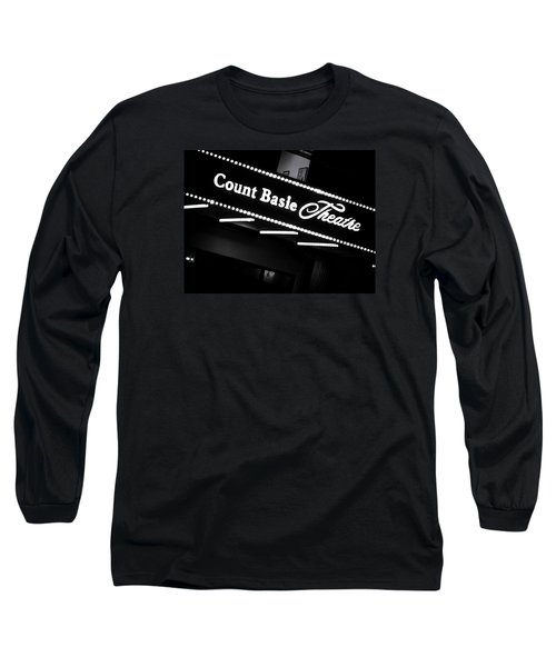 Count Basie Theatre In Lights Long Sleeve T-Shirt