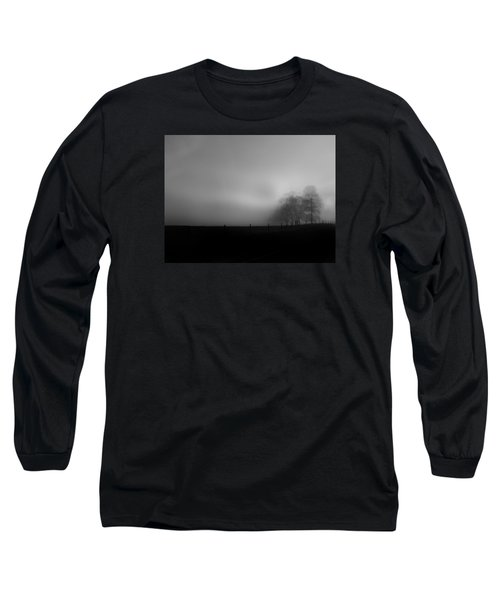 Long Sleeve T-Shirt featuring the photograph Country Morning Vision Georgia Usa by Sally Ross
