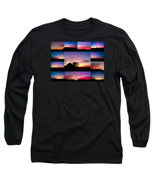 Countryside Beauty Long Sleeve T-Shirt by Carlee Ojeda