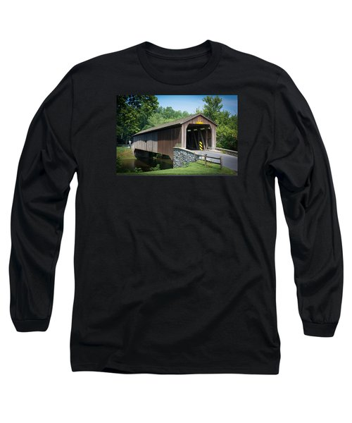 Covered Bridge Long Sleeve T-Shirt by Kenneth Cole