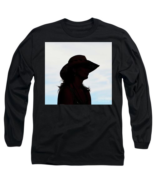Cowgirl In The Sky Long Sleeve T-Shirt