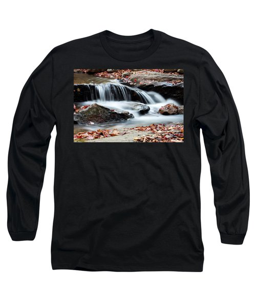 Coxing Kill In Autumn #1 Long Sleeve T-Shirt by Jeff Severson
