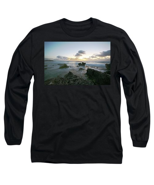 Cozumel Sunrise Long Sleeve T-Shirt by Robert Och