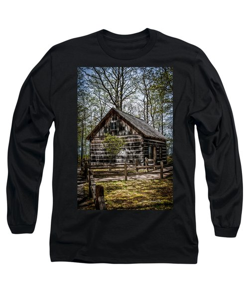 Cozy Cabin Long Sleeve T-Shirt by Joann Copeland-Paul