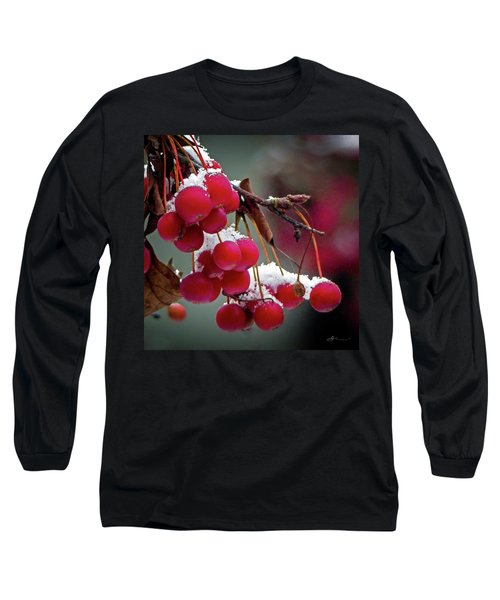Crab Apples Snow Long Sleeve T-Shirt