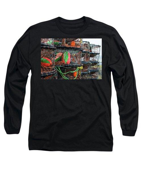 Crab Pots Long Sleeve T-Shirt