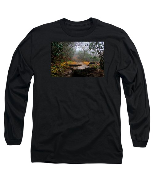 Long Sleeve T-Shirt featuring the photograph Craggy Gardens by Jessica Brawley