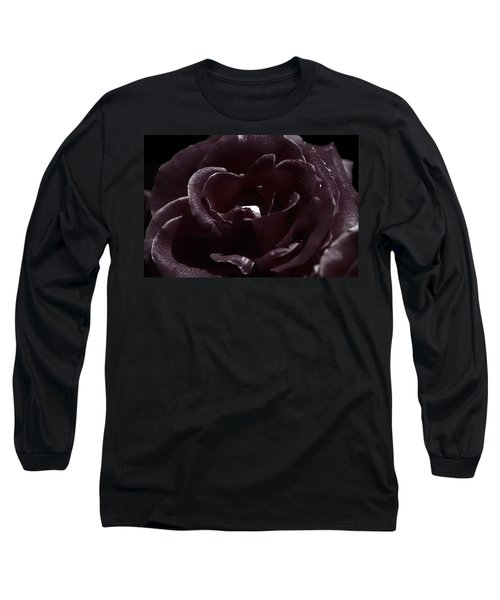 Cranberry Rose Long Sleeve T-Shirt