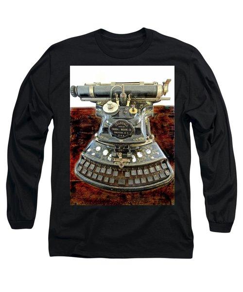 Crandall Type Writer 1893 Long Sleeve T-Shirt