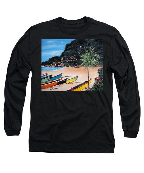 Crashboat Beach I Long Sleeve T-Shirt