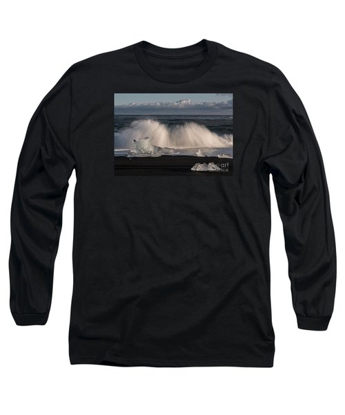 Crashing Waves Long Sleeve T-Shirt