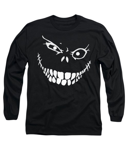 Crazy Monster Grin Long Sleeve T-Shirt by Nicklas Gustafsson