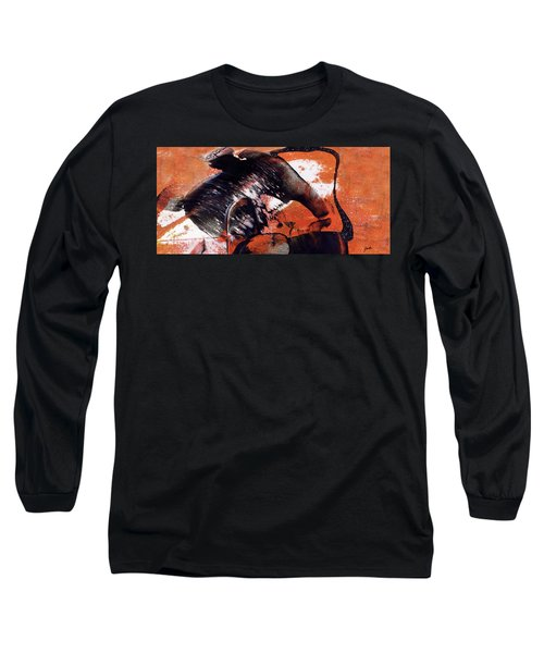 Crazy Mouse - Modern Abstract Art Painting Long Sleeve T-Shirt