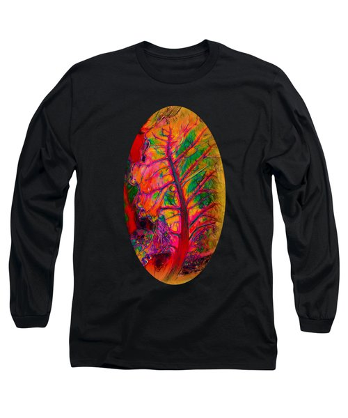 Crazy Quilt Chard Long Sleeve T-Shirt