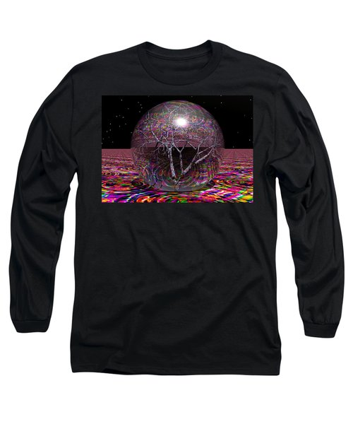 Crazy World Long Sleeve T-Shirt