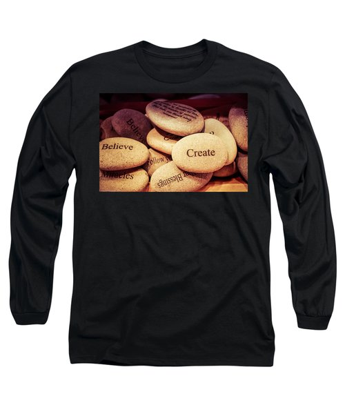 Long Sleeve T-Shirt featuring the photograph Create by Lora Lee Chapman