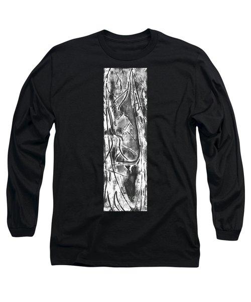 Long Sleeve T-Shirt featuring the painting Creator by Carol Rashawnna Williams