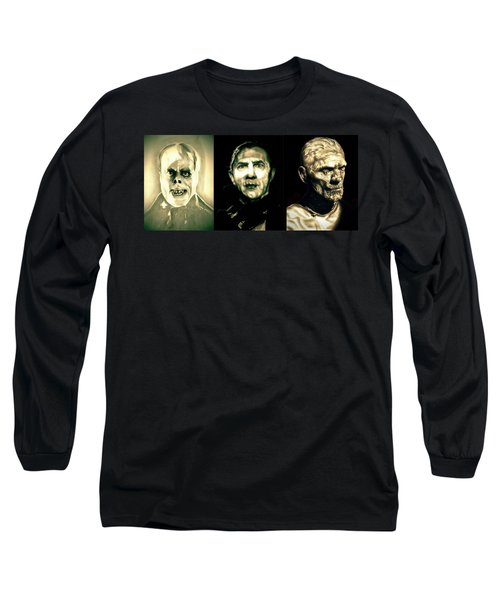 Creature Feature Long Sleeve T-Shirt by Fred Larucci