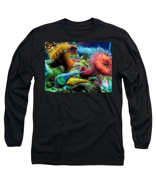 Creatures Of The Aquarium Long Sleeve T-Shirt