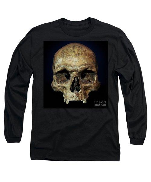 Creepy Skull Long Sleeve T-Shirt