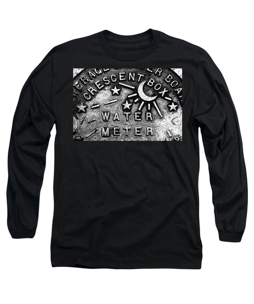 Crescent Box New Orleans Long Sleeve T-Shirt