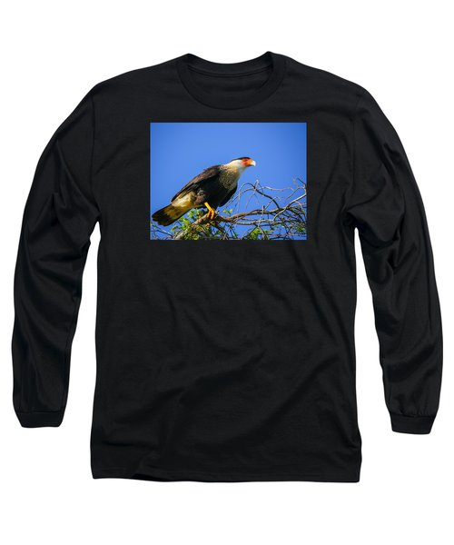 Crested Caracar Long Sleeve T-Shirt