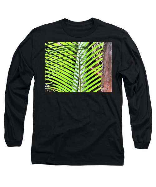 Crisscrossing Palms Long Sleeve T-Shirt