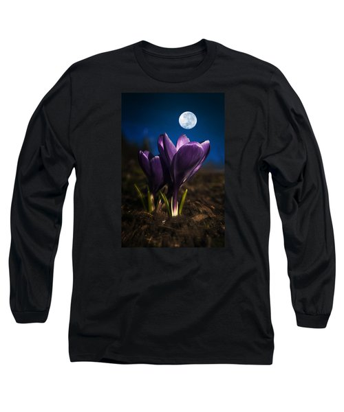 Crocus Moon Long Sleeve T-Shirt