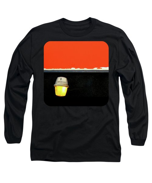 Crooked Long Sleeve T-Shirt by Ethna Gillespie