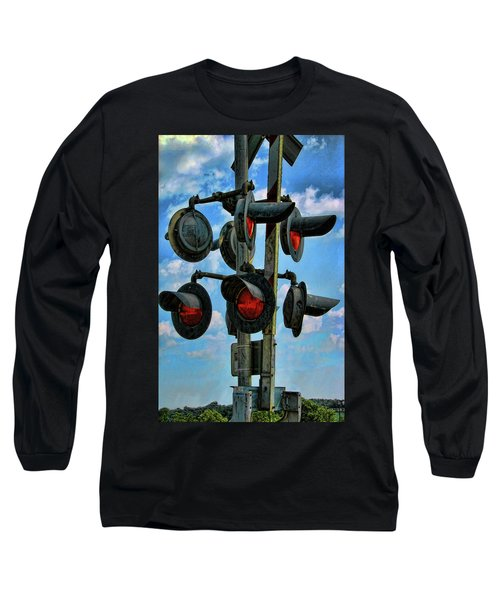 Crossed Signals Long Sleeve T-Shirt