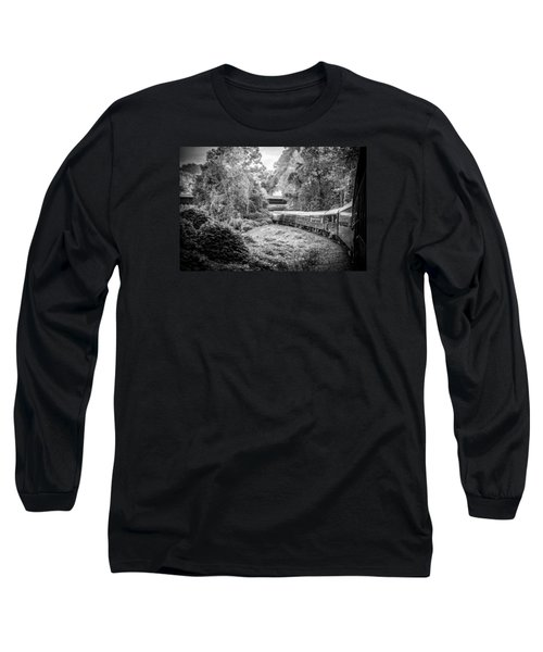 Long Sleeve T-Shirt featuring the photograph Crossing Paths  by Kelly Hazel