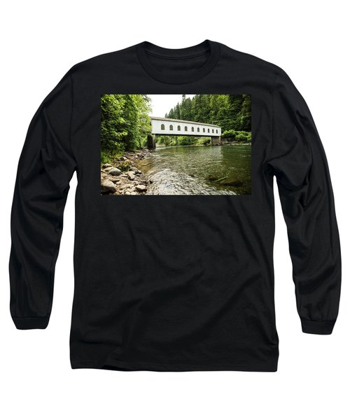Crossing The Mckenzie River Long Sleeve T-Shirt