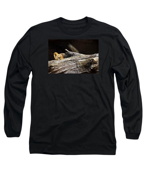 Crouching Tiger Long Sleeve T-Shirt
