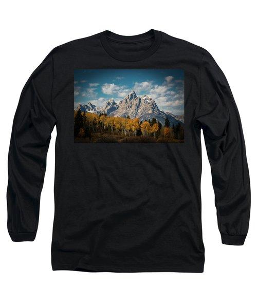 Crown For Tetons Long Sleeve T-Shirt
