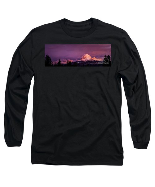 Crowsnest Sunrise Long Sleeve T-Shirt