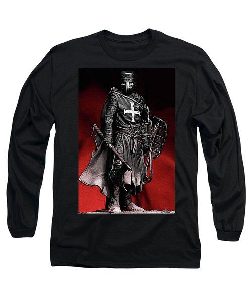 Crusader Warrior - Medieval Warfare Long Sleeve T-Shirt