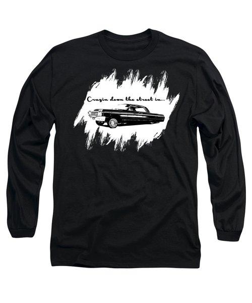Cruzin Down The Street Long Sleeve T-Shirt