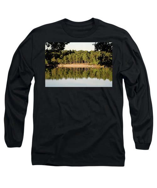 Crystal Lake In Whitehall Mi Long Sleeve T-Shirt