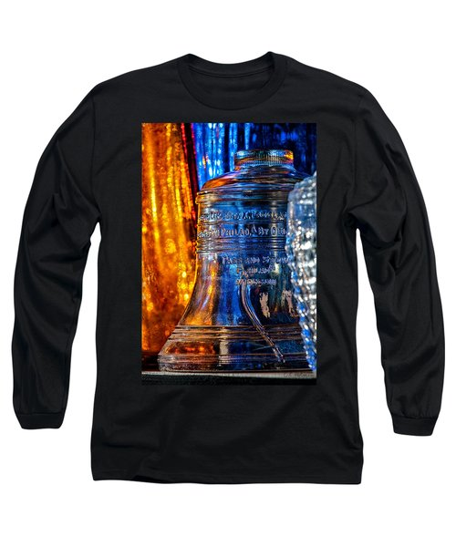 Crystal Liberty Bell Long Sleeve T-Shirt