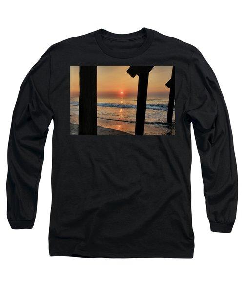 Crystal Sunrise Long Sleeve T-Shirt by Phil Mancuso