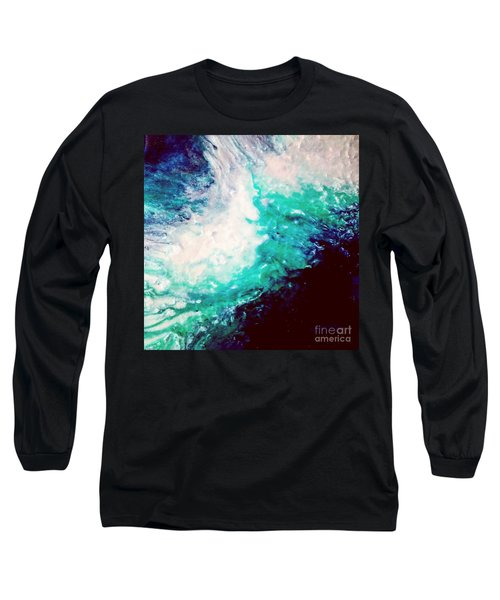 Crystal Wave16 Long Sleeve T-Shirt