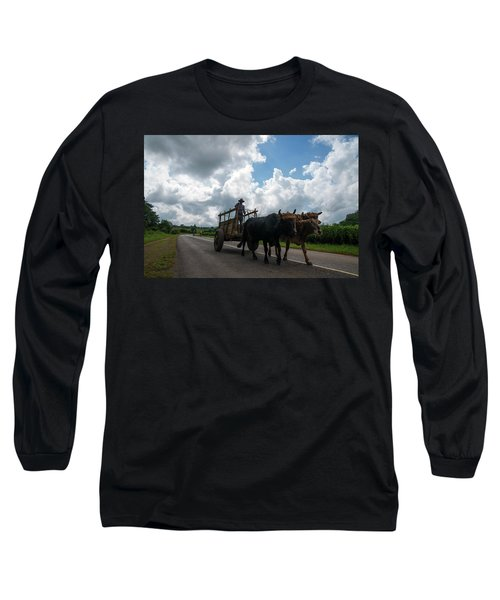 Cuban Worker Long Sleeve T-Shirt