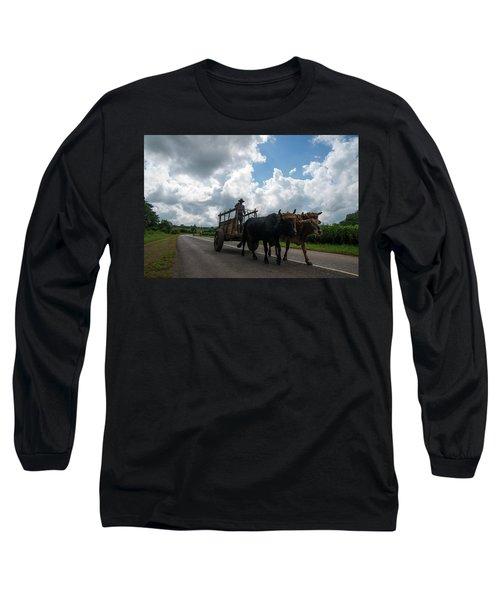 Cuban Worker Long Sleeve T-Shirt