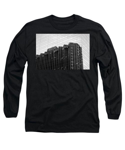 Long Sleeve T-Shirt featuring the photograph Cubicle Farm by Valentino Visentini