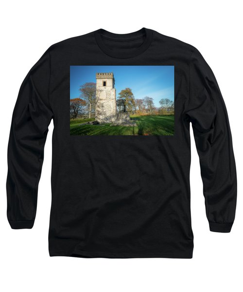 Cuchulains Castle Long Sleeve T-Shirt by Marty Garland
