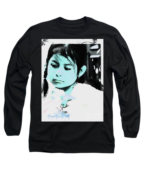 Long Sleeve T-Shirt featuring the photograph Cuenca Kids 886 by Al Bourassa