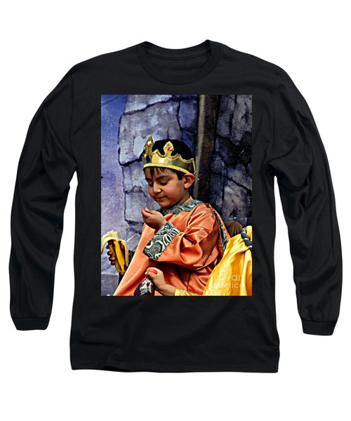 Long Sleeve T-Shirt featuring the photograph Cuenca Kids 903 by Al Bourassa
