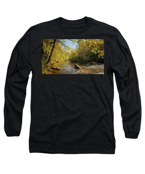 Cullasaja River Nc Long Sleeve T-Shirt