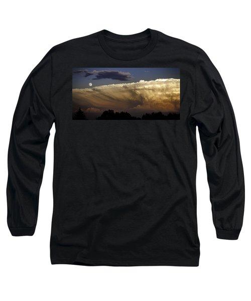 Cumulonimbus At Sunset Long Sleeve T-Shirt by Jason Moynihan